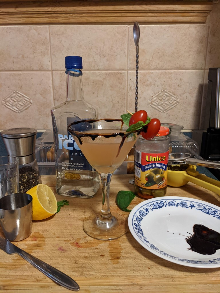 bruschetta martini