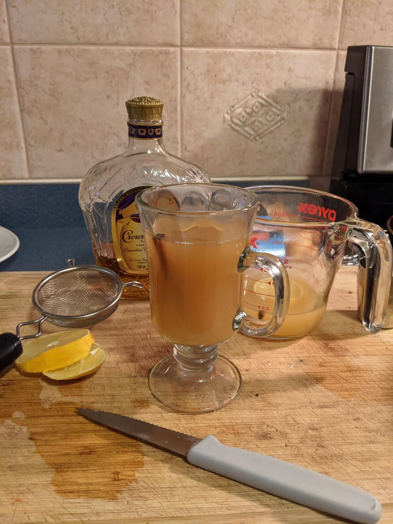 hot spiked apple cider