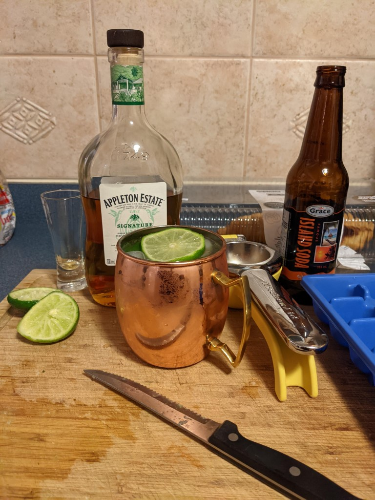 not a dark 'n' stormy
